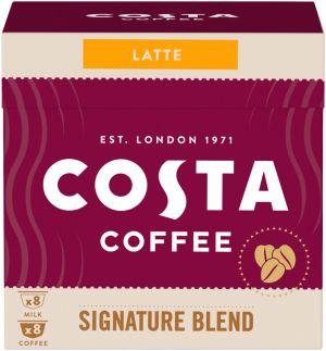Costa Coffee Signature Blend Latte 8+8 kapsúl pre Dolce Gusto kávovary