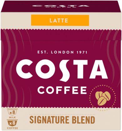 Upraženo - COSTA Coffee Dolce Gusto Latte Signature Blend 121,6g