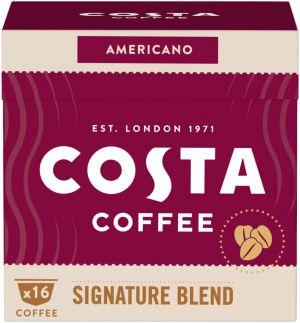Costa Coffee Signature Blend Americano - 16 kapsúl pre Dolce Gusto kávovary
