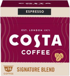 Costa Coffee Signature Blend Espresso - 16 kapsúl pre Dolce Gusto kávovary