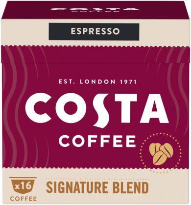 Upraženo - COSTA Coffee Dolce Gusto Espresso Signature Blend 121,6g