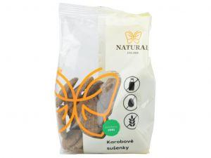 Sušienky karobové bez lepku, vajec a mlieka, Natural - 150 g