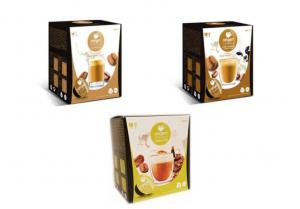 Balíček káv s mliekom Origen - 48 kapsúl pre Dolce Gusto kávovary